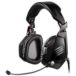 Mad Catz F.R.E.Q. 7 schwarz - 7.1 Gaming Head­set für 76,12 € @Amazon.co.uk