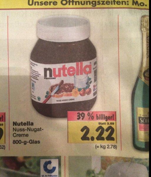 800g Nutella - Kaufland RE-City
