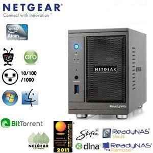 Netgear ReadyNAS Ultra 2 für 66€ @iBOOD - 2-Bay NAS mit Gbit/s Ethernet