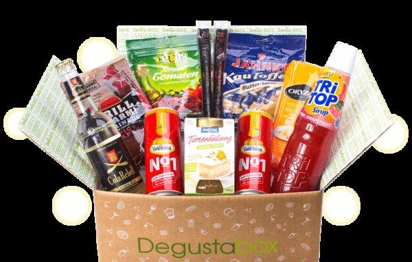 Degustationsbox (Marken-Lebensmittel im Wert von ca. 20€) für 6,99 € inkl. Versand @ groupon