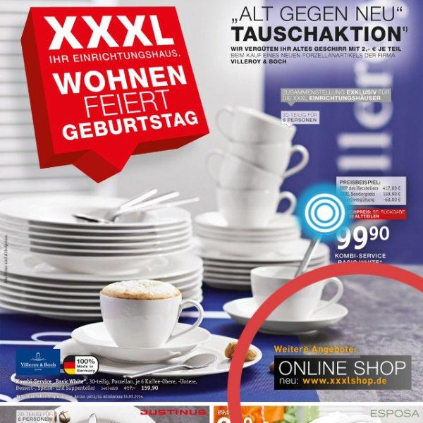 Villeroy & Boch Basic White - 30tlg Geschirrset für 99,99€