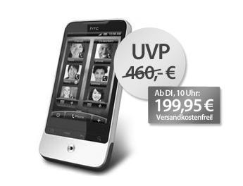 HTC Legend morgen ab 10 Uhr für 199,95 Euro @meinpaket.de