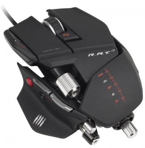 Mad Catz R.A.T. 7 - Gaming Maus für 59,99€ inkl. Versand @ Amazon