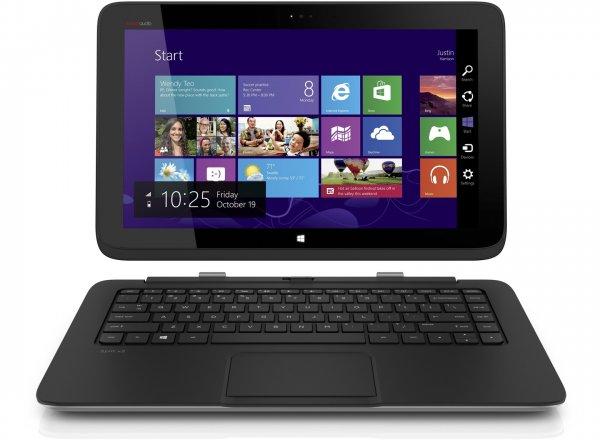 HP 2 in 1 Notebook & Tablet mit I5 , SSD und extra 500GB für 666€