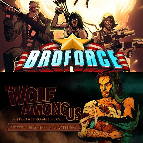 [STEAM] Broforce für 6€ - The Wolf Among Us (nicht Steam) für 4€ (PC und Mac)