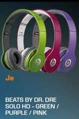 BEATS Beats by Dr. Dre Solo HD mit ControlTalk (Green,Purple;Pink)@Saturn Super Sunday