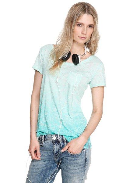 S.oliver Shirt Pistazie statt 29,99 Euro im Shop für 9,99 Euro in Gr. 34-44