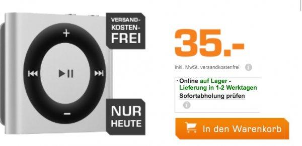 Knallerpreis Apples iPod Shuffle 2GB