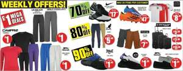 Weekly Offers Sonderangebote @Sportsdirect.com