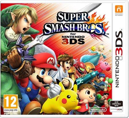 Super Smash Bros. 3DS bei Voelkner günstig durch Gutschein für 33,83 Euro
