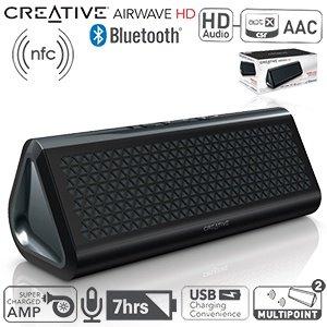 Creative Airwave HD ( Bluetooth Lautsprecher mit NFC) für 55,90€ inkl. Versand