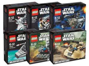 LEGO Bausteineset Star Wars Microfighters