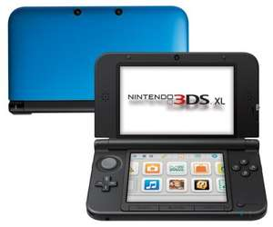 Nintendo 3DS XL Schwarz-Blau [Amazon.it]