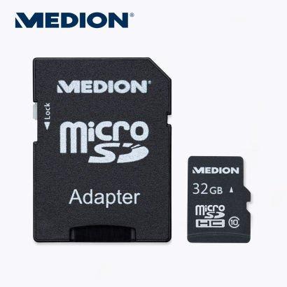 [Aldi Nord] Medion 32 GB microSDHC-Speicherkarte inkl. SD-Adapter 10,99€