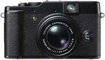 Fujifilm X10 Digitalkamera - 12 Megapixel, 4-fach optischer Zoom, (2,8 Zoll) für 232€ @Amazon.fr