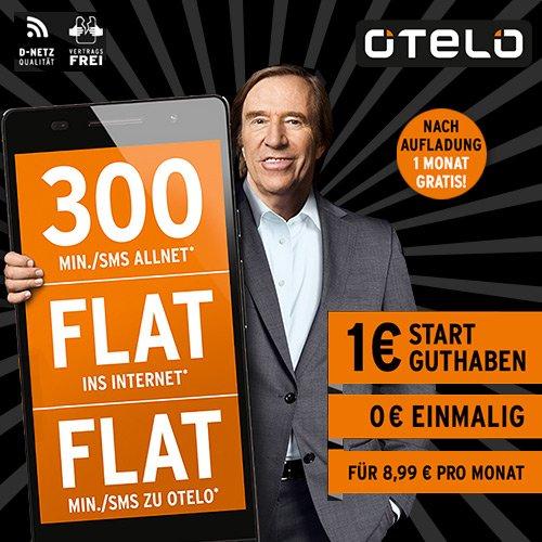 AKTION: OTELO SMARTPHONE 300 FÜR 0 EURO!