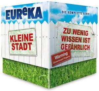 Eureka - Die komplette Serie (Blu-ray) für 46,99€ @Media Dealer