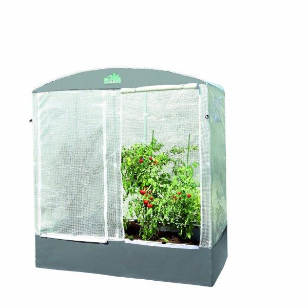 Bio Green PTF 200 Patioflora Tomatenhaus 220 x 200 x 100 cm, für Terasse und Garten