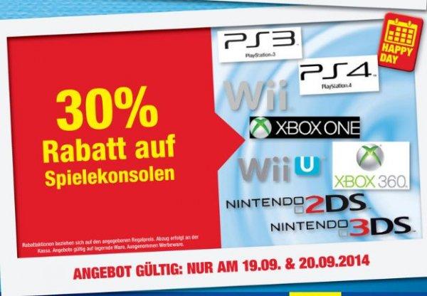 !!!Specialdeal!!! Metro Österreich (Alle Fillialen)...30% auf alle Spielkonsolen