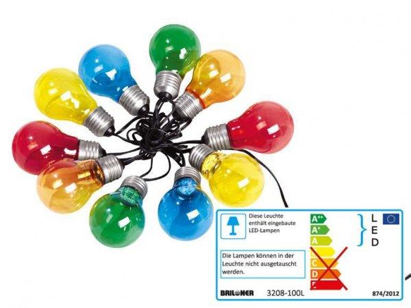 LIVARNO LUX® LED Sommerlichterkette Glühbirne für innen und außen 9,99€ zzgl. 4,95€ Versand @Lidl Online