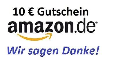 [eBay.de] 10 Euro AMAZON.de Gutschein für 9,49 Euro!