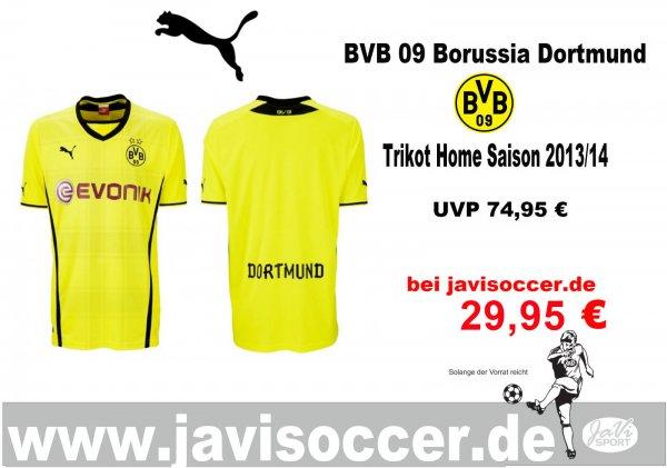 Borussia Dortmund BVB Trikot Home Saison 2013/14 Puma
