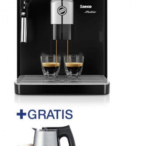 Saeco Kaffeevollautomat Moltio HD 8766 mit Milchaufschäumer