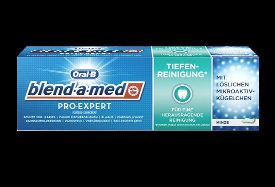 [Rossmann] Oral-B blend-a-med PRO-EXPERT Tiefenreinigung Zahncreme + GRATIS Oral-B PRO-EXPERT CrossAction Zahnbürste