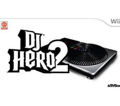 Dj Hero 2  inkl. Turntable-Controller  für die Wii