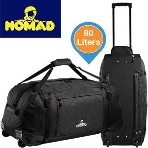 NOMAD GATE 80 Reisetasche (80 Liter Volumen) in schwarz für 29,95€ zzgl. 5,95€ Versand (??) @iBOOD