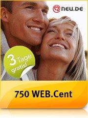 WEB.cent über web.de(Club?): Premium-Mitgliedschaft bei neu.de für 3 Tage (endet automatisch) bringt 750 WEB.cent -> entspricht 7,50 Euro.