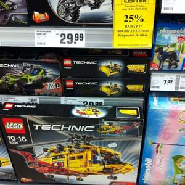 [Lokal HH - ReWe Center] 25% auf LEGO und Playmobil