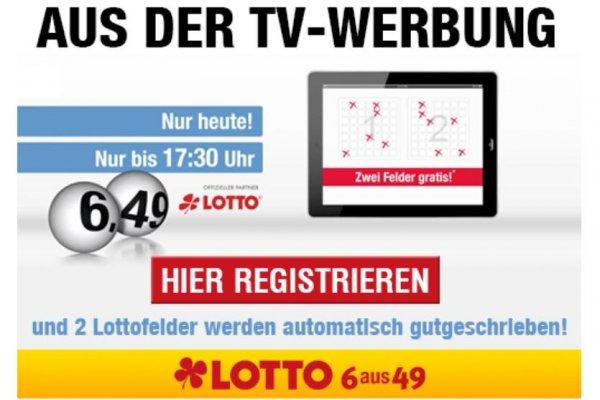 2 Lotto Felder kostenlos bei Lottowelt.de