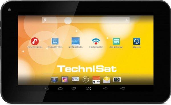 TechniPad 7T – 7-Zoll Android-Tablet mit DVB-T-Empfänger für 93,63 € inkl. Versand [TechniSat Onlineshop]