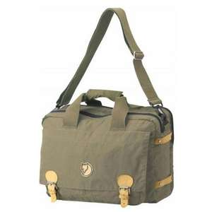 Fjäll Räven Vintage Brief Case light khaki