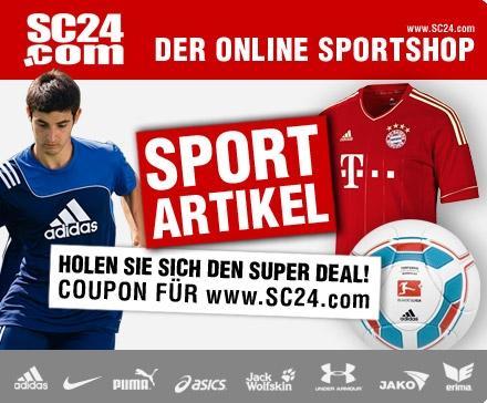 @dailydeal.de: Günstige Fußball-Trikots, Sportswear usw. (19,99 statt 50 € auf SC24.com)