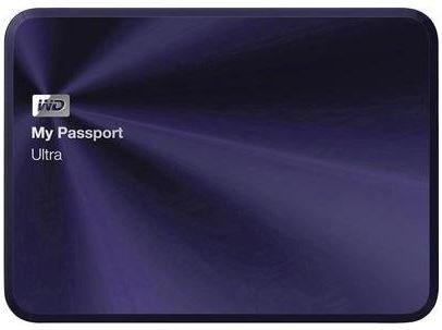 """Externe Festplatte 6.35 cm (2.5 """") 2 TB WD My Passport® Ultra Metal Blau-Schwarz USB 3.0 Für 74,95 mit Sofortüberweisung @ Conrad"""