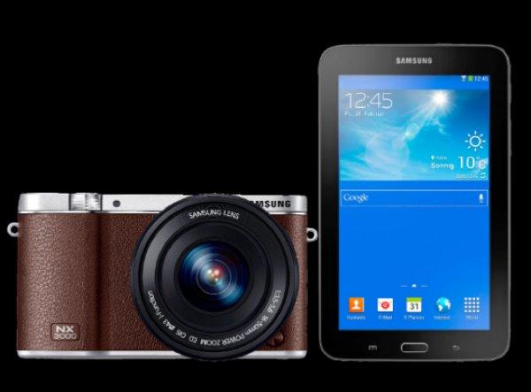 Samsung NX3000 16-50mm + TAB 3 / 7.0 - LITE