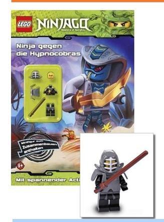 4 der beliebten LEGO Ninjago Minifiguren inkl. Buch für je 2,99€ inkl. VSK @terrashop.de