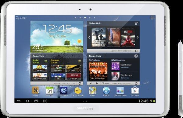 Schweiz Samsung Galaxy Note 10.1 16GB wifi für 249CHF (ca. 206 Euro) nur Online