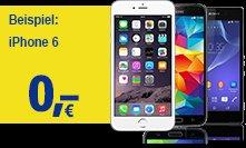 [Giga.de] 1&1: 4GB-, Allnet- & Festnetz-Flat mit iPhone 6, Galaxy Alpha, Xperia Z3 für 44,99 €