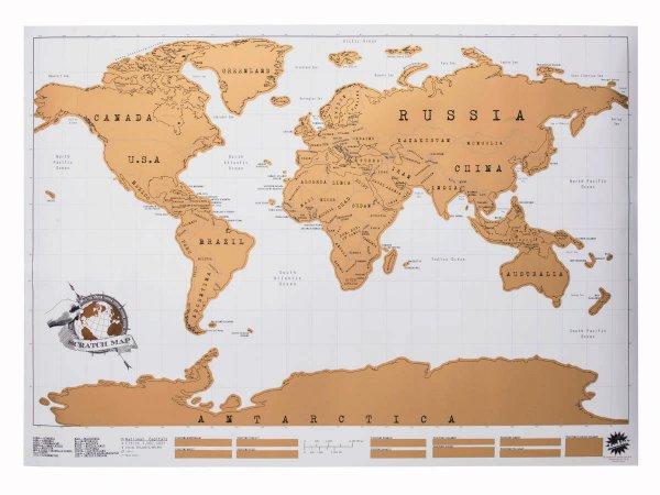 Scratch Map Weltkarte bei focalprice für 6,75€