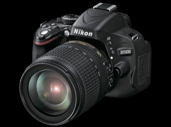 [Saturn bundesweit] NIKON D 5100 + AF-S DX 18-105mm VR Spiegelreflexkamera mit Objektiv