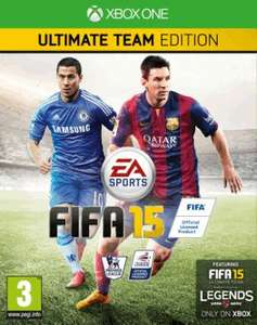 Fifa 15 Ultimate Team Edition im indischen Xbox One Store ab 33,01 Euro