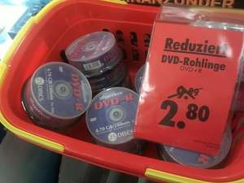 [lokal] Bei Poco Domäne Braunschweig DVD Rohlinge Silver Circle 25 Stk. 2,80€