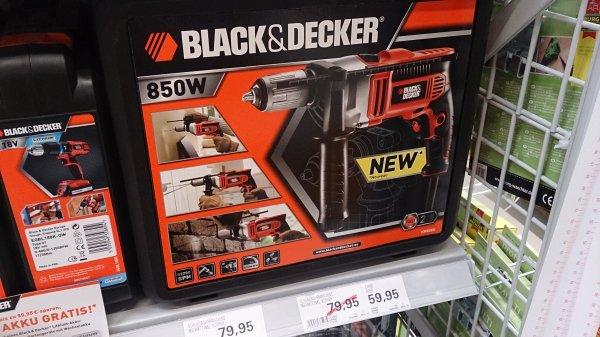 [hagebaumarkt-Hamburg] [Lokal?/Bundesweit?] Black&Decker KR806K Schlagbohrmaschine