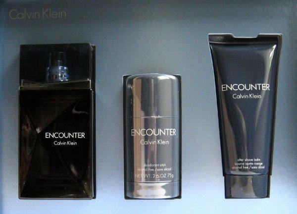 KIK: Calvin Klein - Encounter Geschenkset - EDT 100 ml, Deostick 75ml, Aftershave 100 ml für 29,99