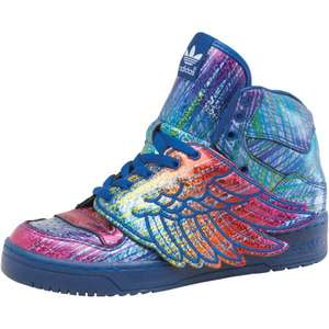 adidas Originals Herren Jeremy Scott Wings Hi-Tops Lila/Schwarz Gr. 36-44