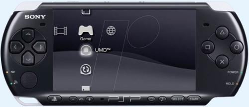 Sony PSP Playstation - inklusive 1x  Spiel (3 Spiele zur Auswahl) für 105,55€