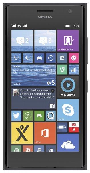 [amazon] Nokia Lumia 730 DUAL-Sim Smartphone (4,7 Zoll OLED, 5 MP Frontkamera, Windows 8.1) - 249€ mit 30€ Gutschein
